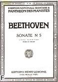 Ok�adka: Beethoven Ludwig van, Sonate N�5 Op.24 Fa Maj.