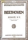 Okładka: Beethoven Ludwig van, Sonate N°9 Op.47 La Maj.