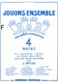 Okładka: Antiga Jean, Jouons ensemble vol. 1 - 4 Mains