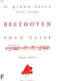 Ok�adka: Beethoven Ludwig van, Lettre pour Elise - Version originale