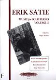 Okładka: Satie Erik, Music for solo piano volume II