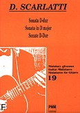 Okładka: Scarlatti Domenico, Sonata D-dur