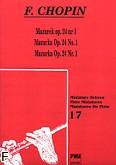 Ok�adka: Chopin Fryderyk, Mazurek op.24 nr 1    MFL 17