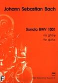 Okładka: Bach Johann Sebastian, Sonata BWV 1001- na gitarę