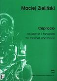 Okładka: Zieliński Maciej, Capriccio na klarnet i fortepian