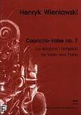 Okładka: Wieniawski Henryk, Capriccio-Valse op.7