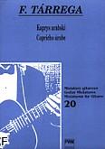 Okładka: Tárrega Francisco, Kaprys arabski (solo)