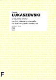 Okładka: Łukaszewski Paweł, O Clavis David