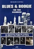 Ok�adka: Jasinski Richard, 10 duets for flutes. Blues & Boogie (duet flet�w)