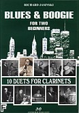 Ok�adka: Jasinski Richard, 10 duets for clarinets. Blues & Boogie