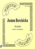 Okładka: Bereźnicka Joanna, Kolędy cz. 1 na flet i fortepian