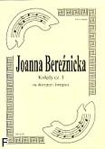 Okładka: Bereźnicka Joanna, Kolędy cz. 1 na skrzypce i fortepian