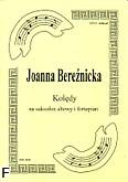 Okładka: Bereźnicka Joanna, Kolędy cz. 1 na saksofon altowy i fortepian
