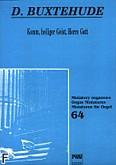 Okładka: Buxtehude Dietrich, Komm, heiliger Geist, Herre Gott