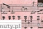 Ok�adka: , Zeszyt nutowy A5 - le��cy, 5 pi�ciolinii na stronie z lini� wiod�c� dla tekstu, 16-to kartkowy