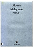 Ok�adka: Alb�niz Isaac, Malague�a op. 165 nr 3