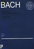 Okładka: Bach Johann Sebastian, Klavierbüchlein für Wilhelm Friedmann Bach