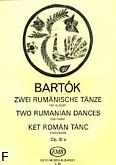Okładka: Bartók Béla, Dwa tańce rumuńskie op. 8\a