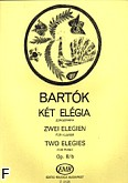 Ok�adka: Bart�k B�la, Dwie elegie op. 8\b