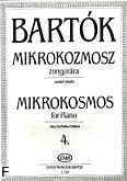 Ok�adka: Bart�k B�la, Mikrokosmos z. 4 nr 97-121