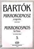 Ok�adka: Bart�k B�la, Mikrokosmos z. 5 nr 122-139