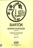 Ok�adka: Bart�k B�la, Trzy burleski op. 8\c