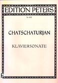 Okładka: Chaczaturian Aram, Sonata