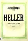 Okładka: Heller Stefan, 24 etiudy op. 125