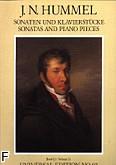 Ok�adka: Hummel Johann Nepomuk, Sonaty i utwory fortepianowe z. 2: Sonata op. 81, Sonata op. 106, Rondo-Fantazja op. 19, Rondo brill