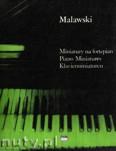 Ok�adka: Malawski Artur, Miniatury na fortepian