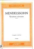 Ok�adka: Mendelssohn-Bartholdy Feliks, Variations s�rieuses op. 54