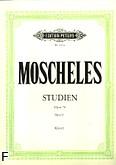Okładka: Moscheles Ignaz, Etiudy op. 70 z. 1