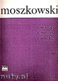 Okładka: Moszkowski Maurycy, 4 utwory