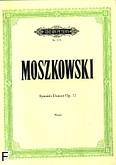 Okładka: Moszkowski Maurycy, Tańce hiszpańskie op. 12