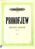 Okładka: Prokofiew Sergiusz, Sonata op. 103