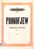 Ok�adka: Prokofiew Sergiusz, Sonata op. 83
