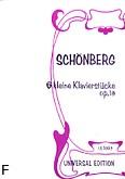 Ok�adka: Sch�nberg Arnold, 6 drobnych utwor�w op.19