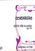 Okładka: Schönberg Arnold, Suita op. 25