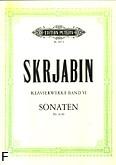 Okładka: Skriabin Aleksander, Sonaty nr 6-10 op. 62, 64, 66, 68, 70