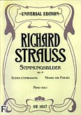 Okładka: Strauss Ryszard, Scenes d