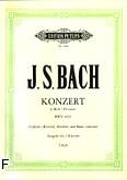 Okładka: Bach Johann Sebastian, Koncert d-moll BWV 1052