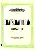 Okładka: Chaczaturian Aram, Koncert na wiolonczelę i orkiestrę (wyc. fort.)