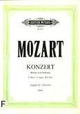 Ok�adka: Mozart Wolfgang Amadeusz, Koncert C-dur KV 503 na fortepian i orkiestr� (wyc. fort.)