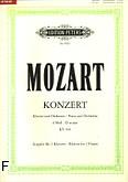 Okładka: Mozart Wolfgang Amadeusz, Koncert d-moll KV 466 na fortepian i orkiestrę (wyc.fort.)