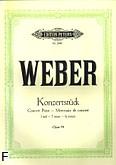 Ok�adka: Weber Carl Maria von, Konzertst�ck f-moll op. 79