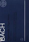 Ok�adka: Bach Johann Sebastian, Utwory organowe z. 2: Chor�le von verschiedener Art: BWV 651-668, Eihnige kanonische Ver�nderungen