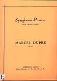 Okładka: Dupré Marcel, Symphonie-Passion pour grand orgue op. 23