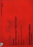 Ok�adka: Franck C�sar, Utwory organowe z. 2: Pastorale op. 19, Pri�re op. 20, Final op. 21