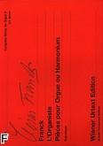 Ok�adka: Franck C�sar, Utwory organowe z. 5: L'Organiste. Pi�ces pour Orgue ou Harmonium