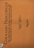 Ok�adka: Frescobaldi Girolamo, Utwory organowe i fortepianowe z. 4: II ksi�ga Toccaten, Partiten (1637)